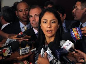 Aprobación de Nadine Heredia cae 9 puntos, según Ipsos Perú