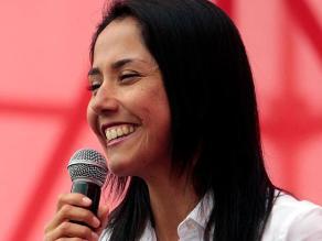Nadine Heredia cuestiona supuestas pruebas presentadas en su contra