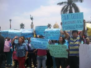 Convertirán centros poblados Alto Trujillo y El Milagro en distritos