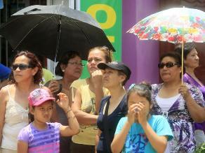 Lima registra hoy un nivel de radiación ultravioleta casi extremo