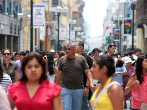Población con empleo adecuado en Lima crece 6,6% entre noviembre y enero
