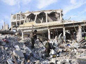 Siria: al menos 7 muertos y 20 heridos por el impacto de cohetes en Alepo