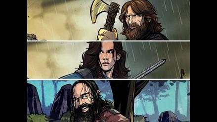 WWE: tus luchadores favoritos convertidos en caricaturas de vikingos