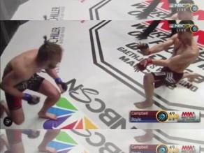 YouTube: Luchador Shane Campbell imitó técnica de Street Fighter