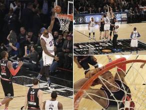 NBA: Las postales que dejó el triunfo del Oeste en el Juego de las Estrellas