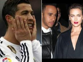 Cristiano Ronaldo: Ahora vinculan a Irina Shayk con Lewis Hamilton