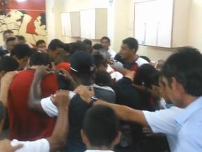Universitario: Así se motivaron los cremas antes de vencer a UTC en Ate