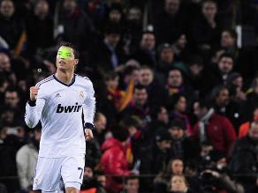 Cristiano Ronaldo: Hinchas de Barcelona lo llaman 'borracho' en el Camp Nou