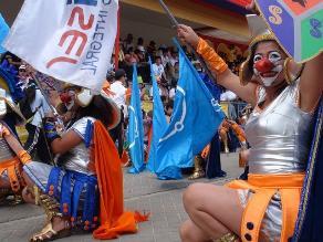 Cajamarca: Gran Corso del Carnaval se vivió con mucho color y baile