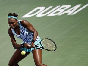 Torneo de Dubai: Venus Williams empieza la defensa del título con victoria