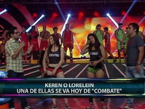 Combate: Keren es eliminada de la competencia