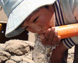 Agua potable para más de 4 mlls de peruanos