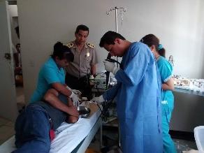 Chiclayo: Policía Nacional realiza campaña ´Policía Saludable 2015 ´