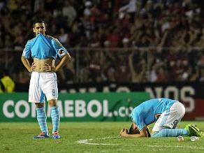 Sporting Cristal repite el drama que vivió en la Copa Libertadores 2014