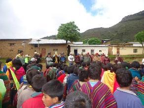 Lambayeque: 200 DNI fueron entregados a pobladores de Incahuasi