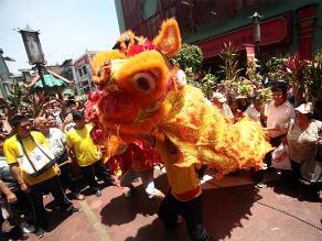 Así se celebra el año de la cabra en barrio chino de Lima