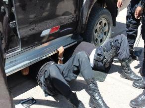 Cusco: intervienen vehículo que trasladaba 15 kilos de droga