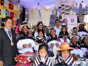 Adultos mayores de San Pedro de Cajas compartieron saberes productivos
