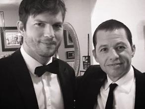Así se despidió Ashton Kutcher de Two And A Half Men