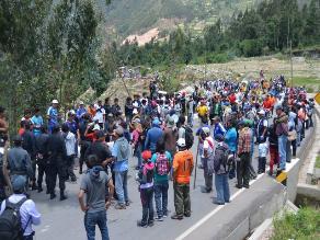 Piura: dos heridos dejó enfrentamiento en mina de sal de Sechura