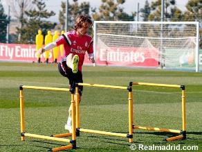 Real Madrid: Luka Modric continúa su puesta a punto y prepara el regreso