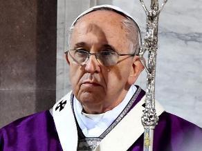 Papa Francisco pide que se respete el alto el fuego en Ucrania