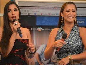 Karla Tarazona y exesposa de Christian Domínguez frente a frente