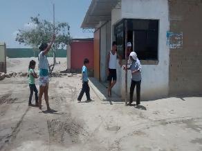 Piura: familias se posesionan en áreas verdes del A.H Las Dalias