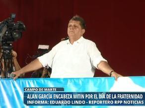 Alan García pide a Michelle Bachelet que investigue presunto espionaje