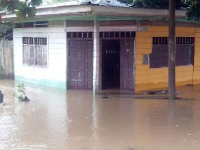 Madre de Dios: lluvias amenazan con inundar puerto Rosario de Laberinto