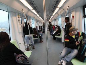 Reportan avería en línea 1 del Metro de Lima