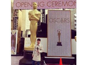 Óscar 2015: Bruno Pinasco en la previa