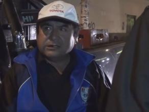 Cajamarca: policía interviene a conductor ebrio manejando camioneta