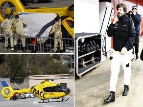 Fernando Alonso sufre aparatoso accidente en entrenamientos de Cataluña