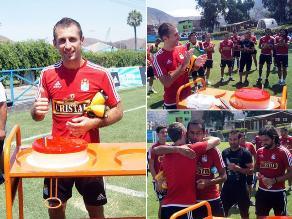 Sporting Cristal: Así festejó Horacio Calcaterra su cumpleaños en La Florida