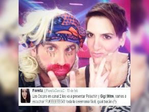 Óscar 2015: La peores burlas contra Gigi y 'Peluchín' en Twitter