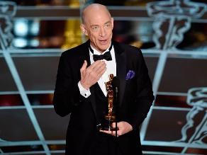 J.K. Simmons ganó el Óscar a mejor actor de reparto por Whiplash