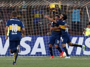 Boca Juniors venció a Temperley y lidera con otros tres equipos