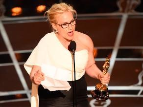 Óscar 2015: Patricia Arquette mejor actriz de reparto