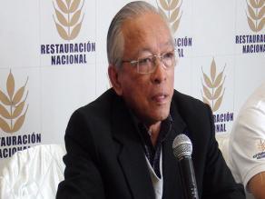 Pastor Humberto Lay lanza su candidatura la presidencia en Chiclayo