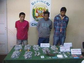 Cusco: intervienen a dos sujetos luego de trasladar droga en bus