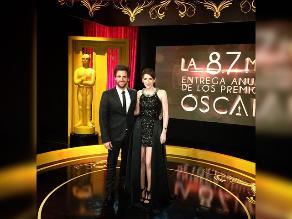 Óscar 2015: Gigi Mitre y 'Peluchín' fueron blanco de memes