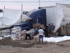 Trujillo: roban camión con 100 mil soles en productos de Plaza Vea