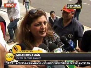 Dictan 18 meses de prisión preventiva para esposa de César Álvarez