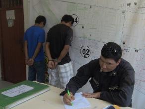 Chiclayo: dictan prisión a sujetos que asaltaban con arma de juguete