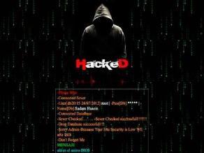 Hackean ministerio chileno de Defensa con supuesto mensaje de EI