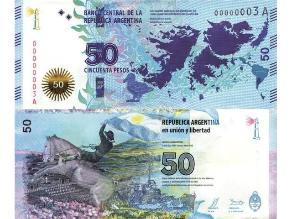 Argentina estrenará en marzo nuevo billete sobre las Islas Malvinas