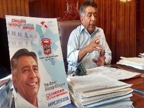 Alcalde David Cornejo: