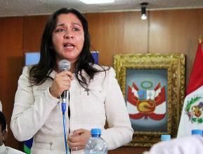 Marisol Espinoza: Suspensión de mi aporte es para brindar apoyo social