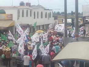 Arequipa: marchas a favor y en contra de Tía María
